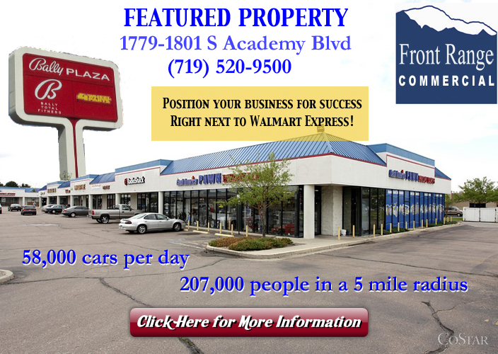 Front Range Commercial LLC Featured Properties on Craigs List - Bally Plaza