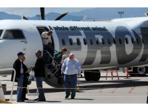 Frontier Airlines at Colorado Springs Airport