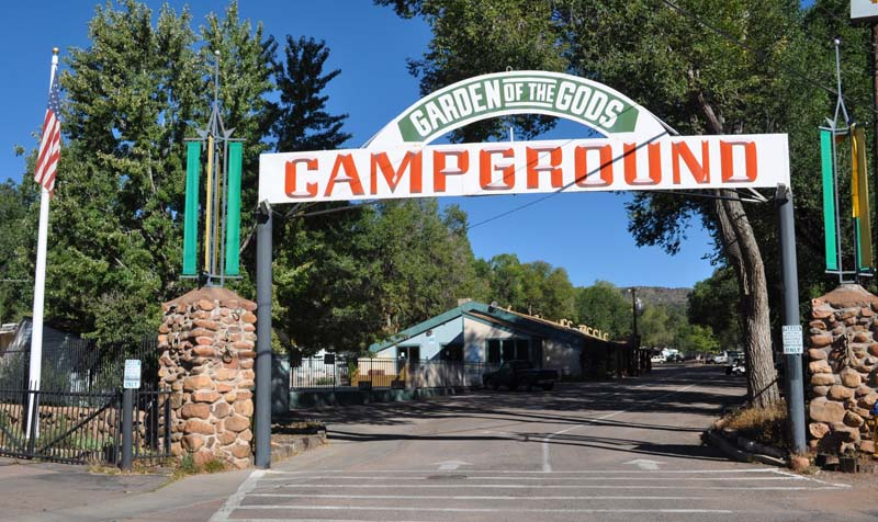 Garden Of The Gods Campground Upgraded Colorado Springs Commercial