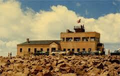 Current Pikes Peak summit building