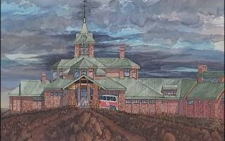 Proposed Pikes Peak summit building
