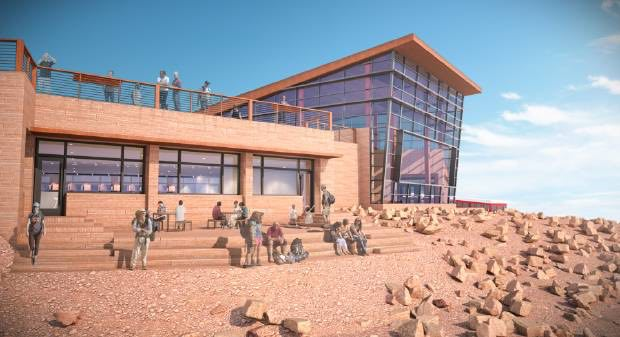 Pikes peak summit house design revealed for Summit house